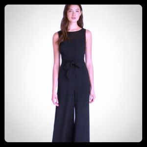 Karl Lagerfeld Paris Belted Jumpsuit size 2